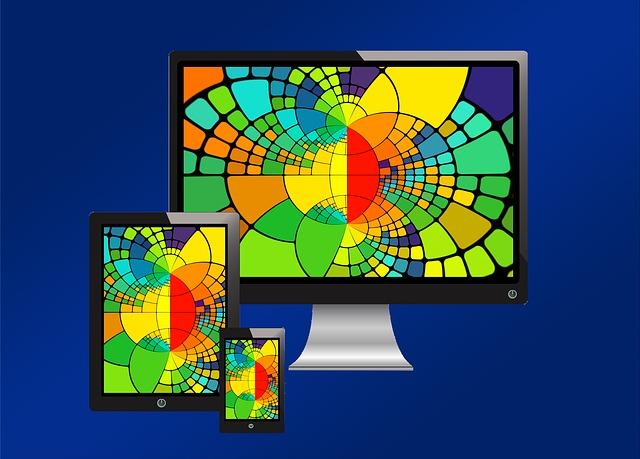 barevný monitor
