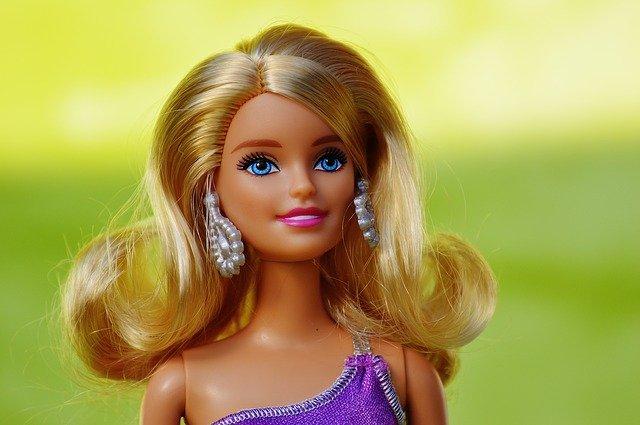 portrét Barbie