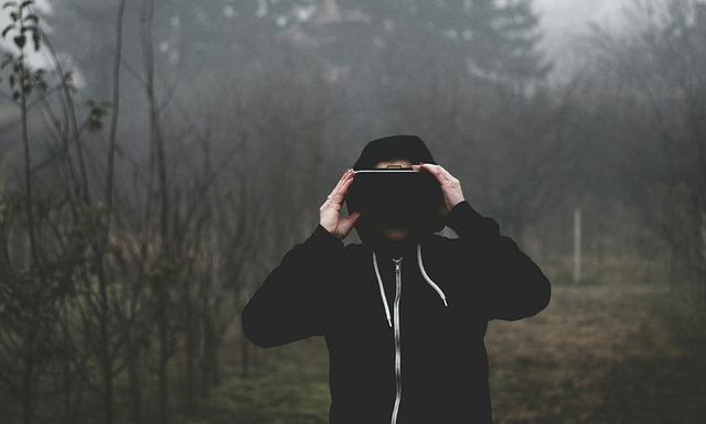 virtuální realita v přírodě