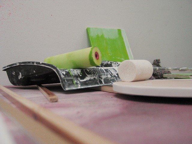 válečky na malování