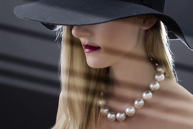 náhrdelník z perel