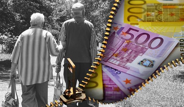 senioři a peníze