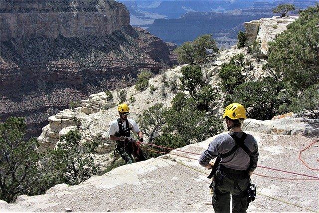 horolezectví grand canyon
