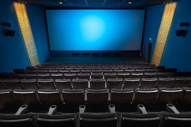 hlediště kina