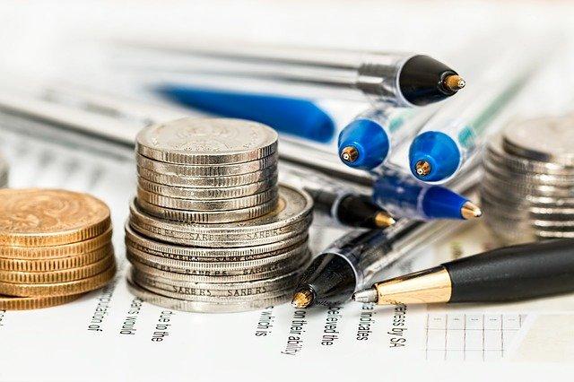 tužky a peníze
