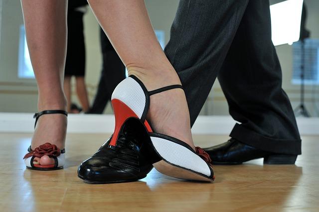 obuv tanečníků