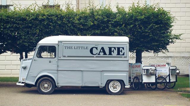 pojízdná kavárna