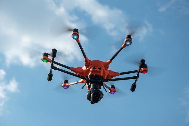 drone a termovize