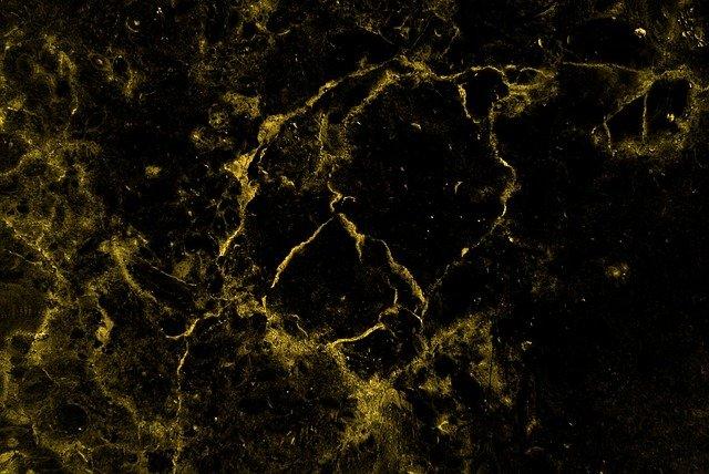 černý mramor se zlatou texturou