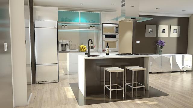Vizualizace nové kuchyně