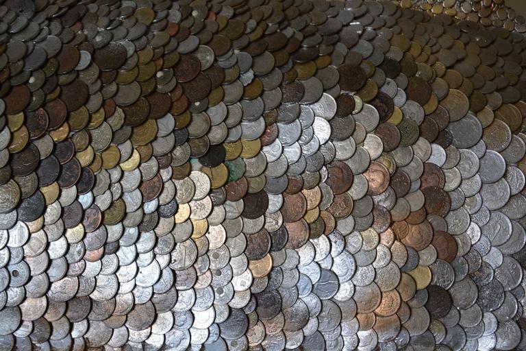 záplava mincí
