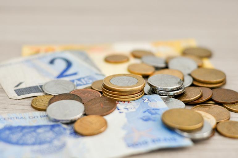 ležící peníze
