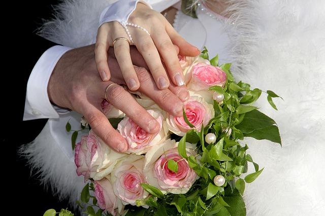 Detail na manželský svazek