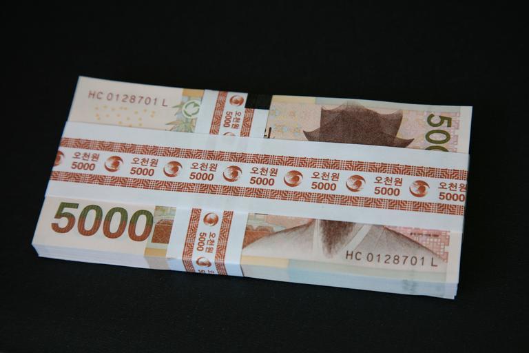 balíček bankovek