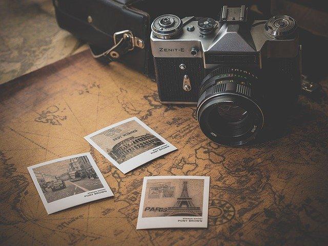 fotoaparát a snímky