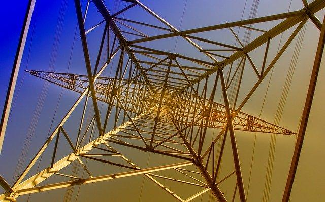 stožár elektrického vedení