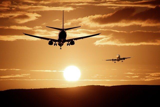 letadla a slunce
