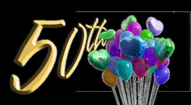 oslava 50. narozenin