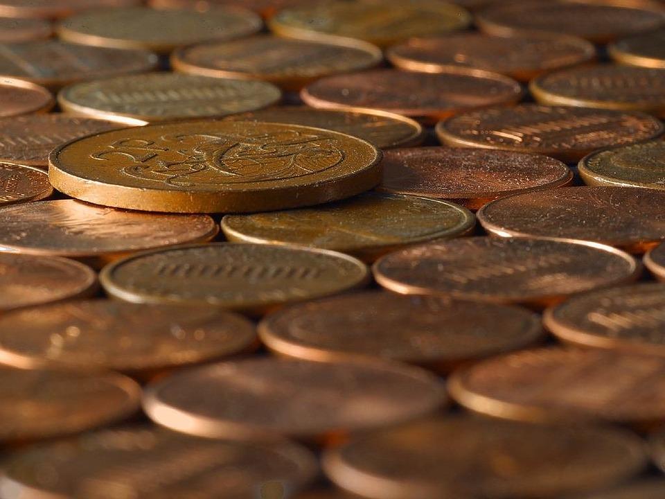 ležící mince